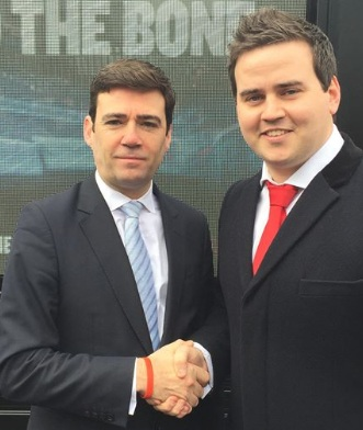 Andy Burnham to appear in Basildon