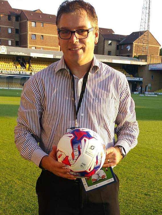 Yellow Sport's Brian Jeeves is at Roots Hall Stadium for Southend United's Checkatrade Trophy tie with Brighton & Hove Albion under 23's