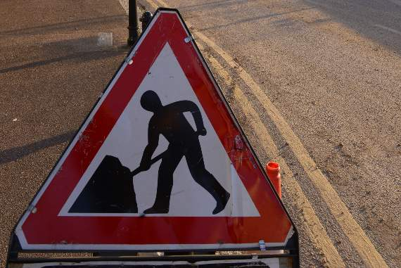 TRAFFIC: Delays due to roadworks on Nevendon Interchange