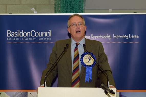 Conservatives hold Basildon and Billericay