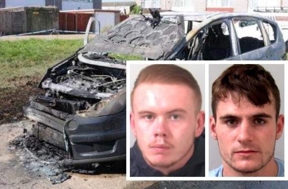 Men jailed after three hit with shotgun pellets during high speed car chase on Canvey Island