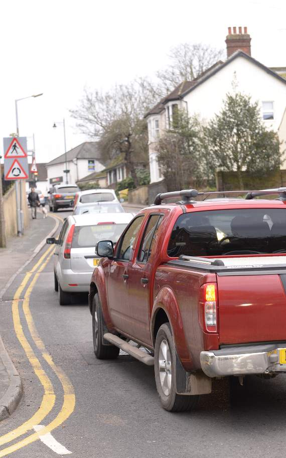 TRAFFIC: Disruption in Canvey Island