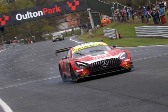 AmDTuning.com shows potential in British GT opener