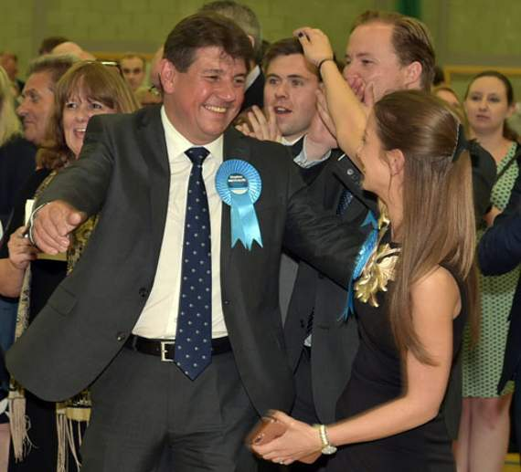 Conservatives hold Basildon South and Thurrock East