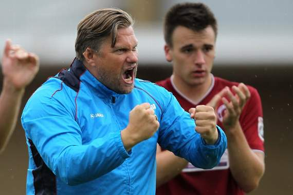 Rod Stringer: 'I thought we were excellent, to be honest' - Dartford 0-1 Chelmsford City - Reaction