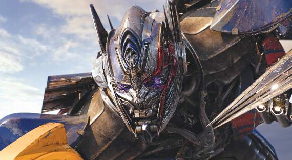 Film: It's all change over at Transformer towers